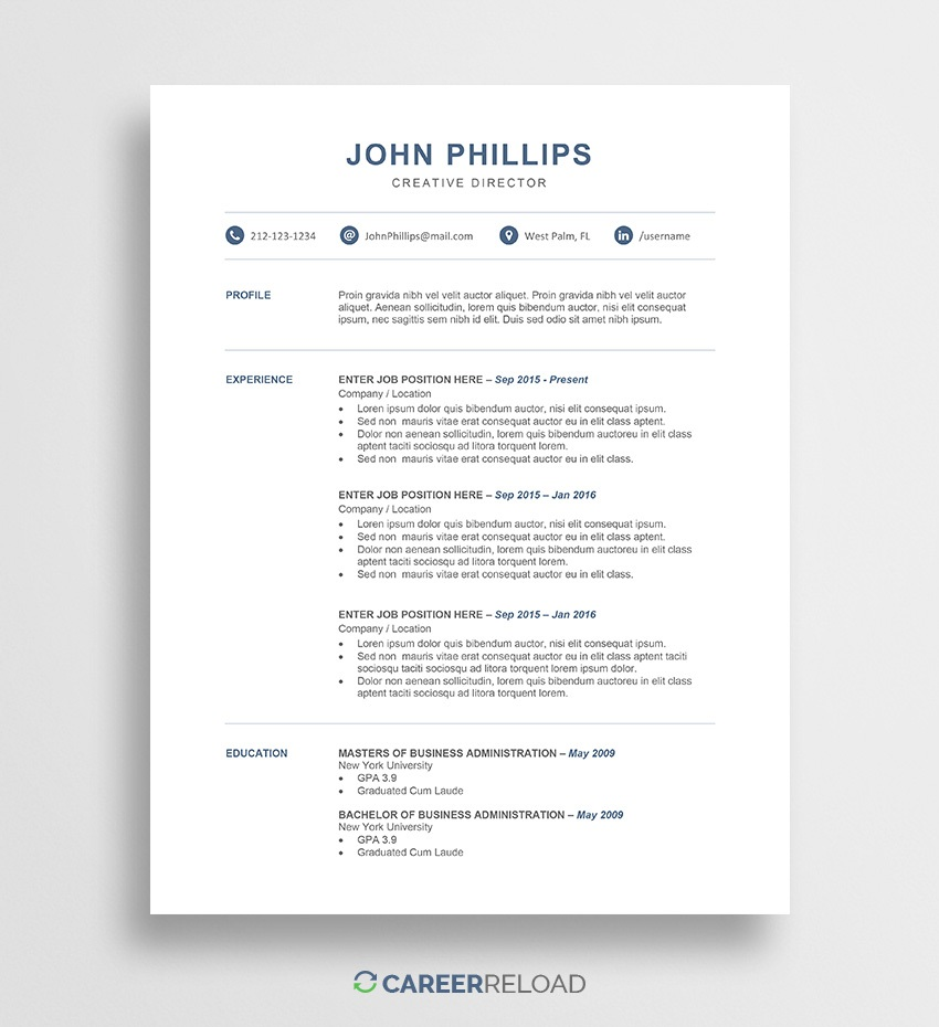 008 Wonderful Microsoft Word Resume Template Download Design  Modern M Free Office 2007Full