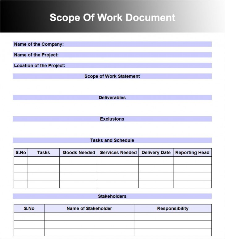 008 Wonderful Scope Of Work Template Word Free High Resolution 728