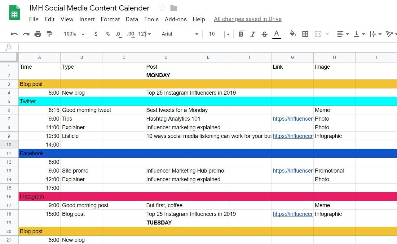 008 Wonderful Social Media Editorial Calendar Template High Definition  Templates Content 2019 Planning 2020Full