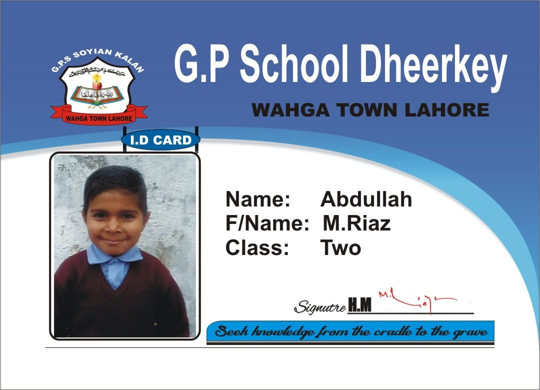008 Wonderful Student Id Card Template Idea  Free Psd Download Word SchoolFull