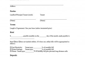 008 Wonderful Template For Renter Lease Agreement High Definition  Free Apartment