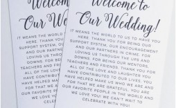 008 Wonderful Wedding Welcome Bag Letter Template Concept  Free