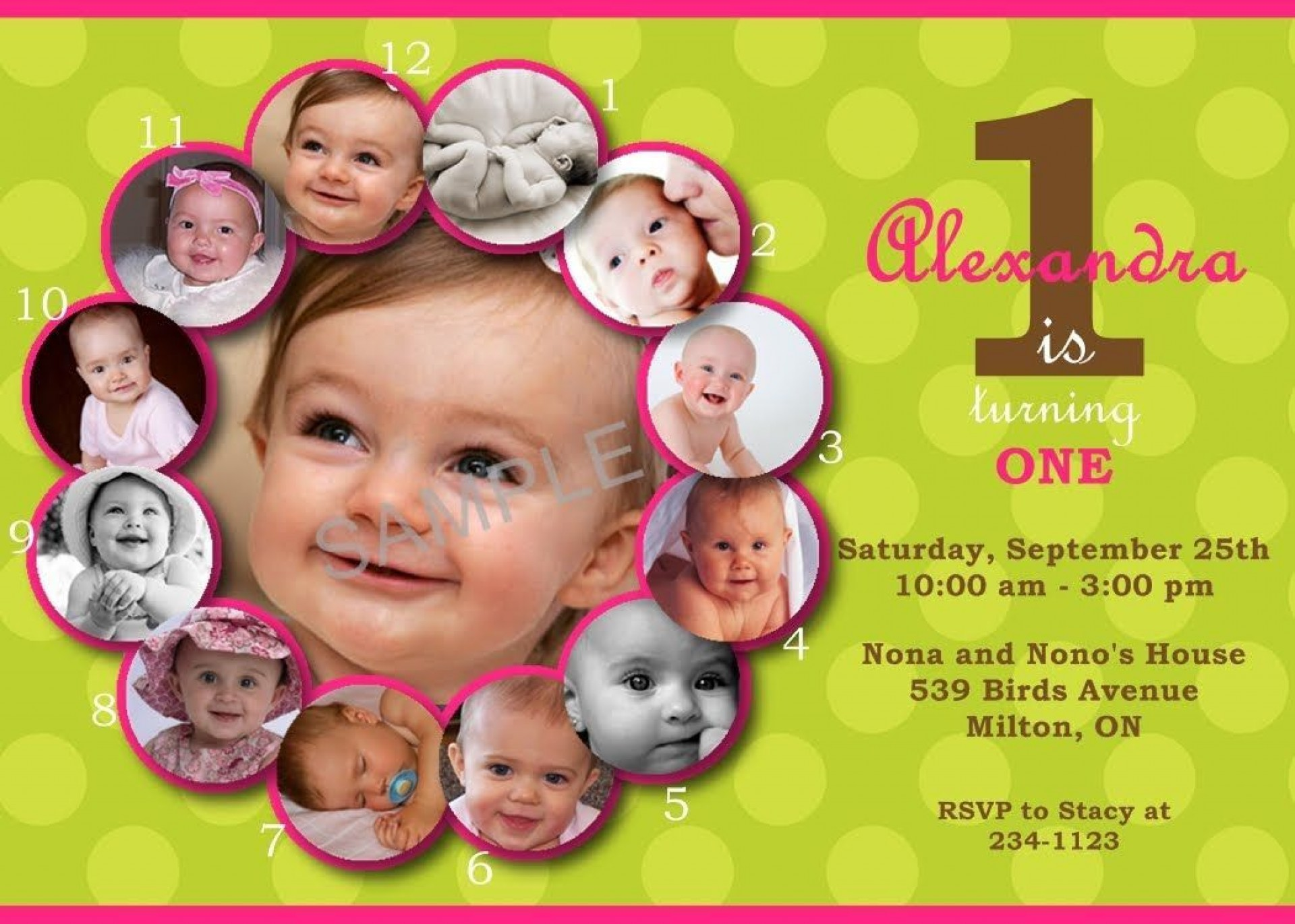 008 Wondrou 1st Birthday Invitation Template Concept  Background Design Blank For Girl First Baby Boy Free Download Indian1920