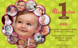 008 Wondrou 1st Birthday Invitation Template Concept  Background Design Blank For Girl First Baby Boy Free Download Indian