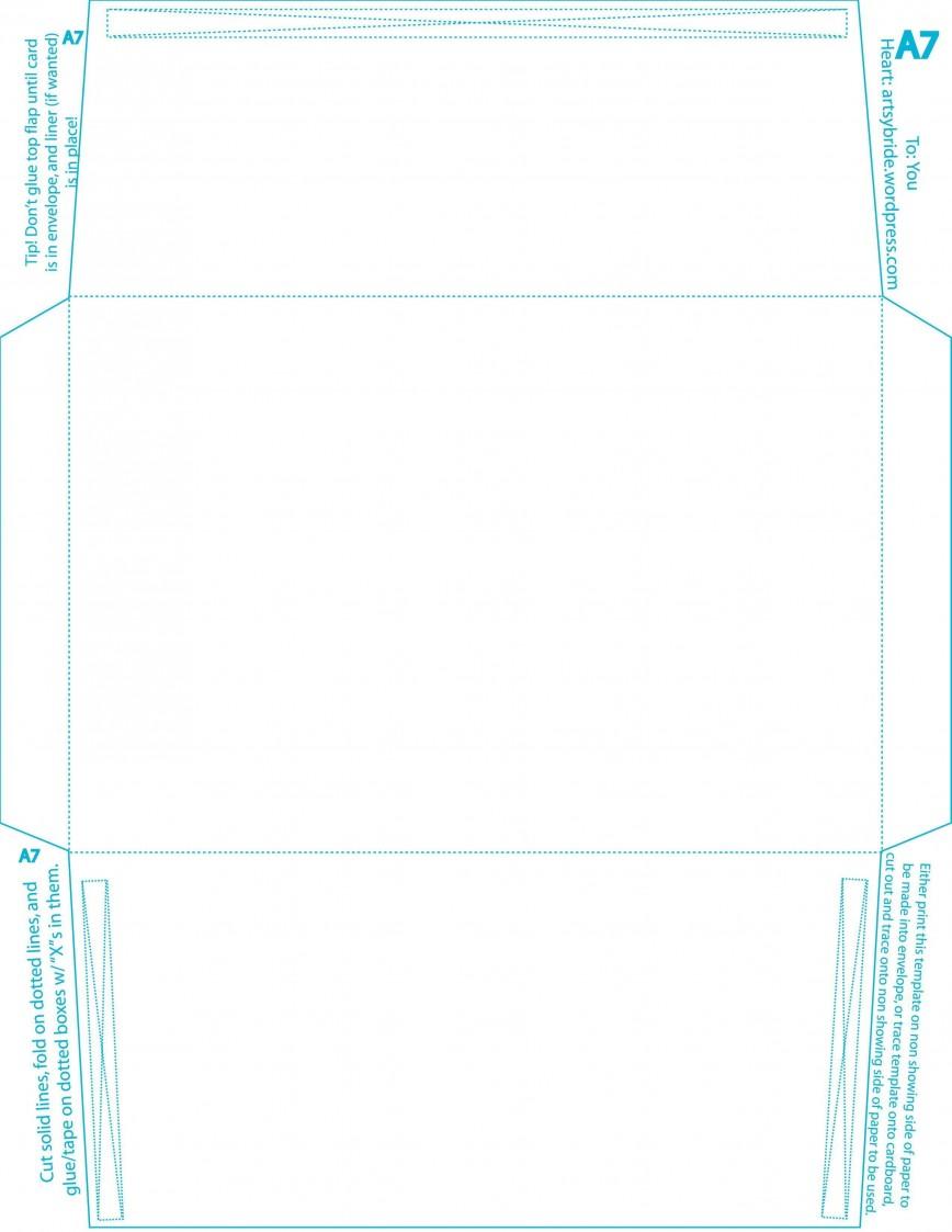 008 Wondrou A7 Envelope Liner Template High Def  Illustrator Square Printable