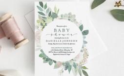 008 Wondrou Diy Baby Shower Invitation Template Highest Clarity  Templates Diaper Free