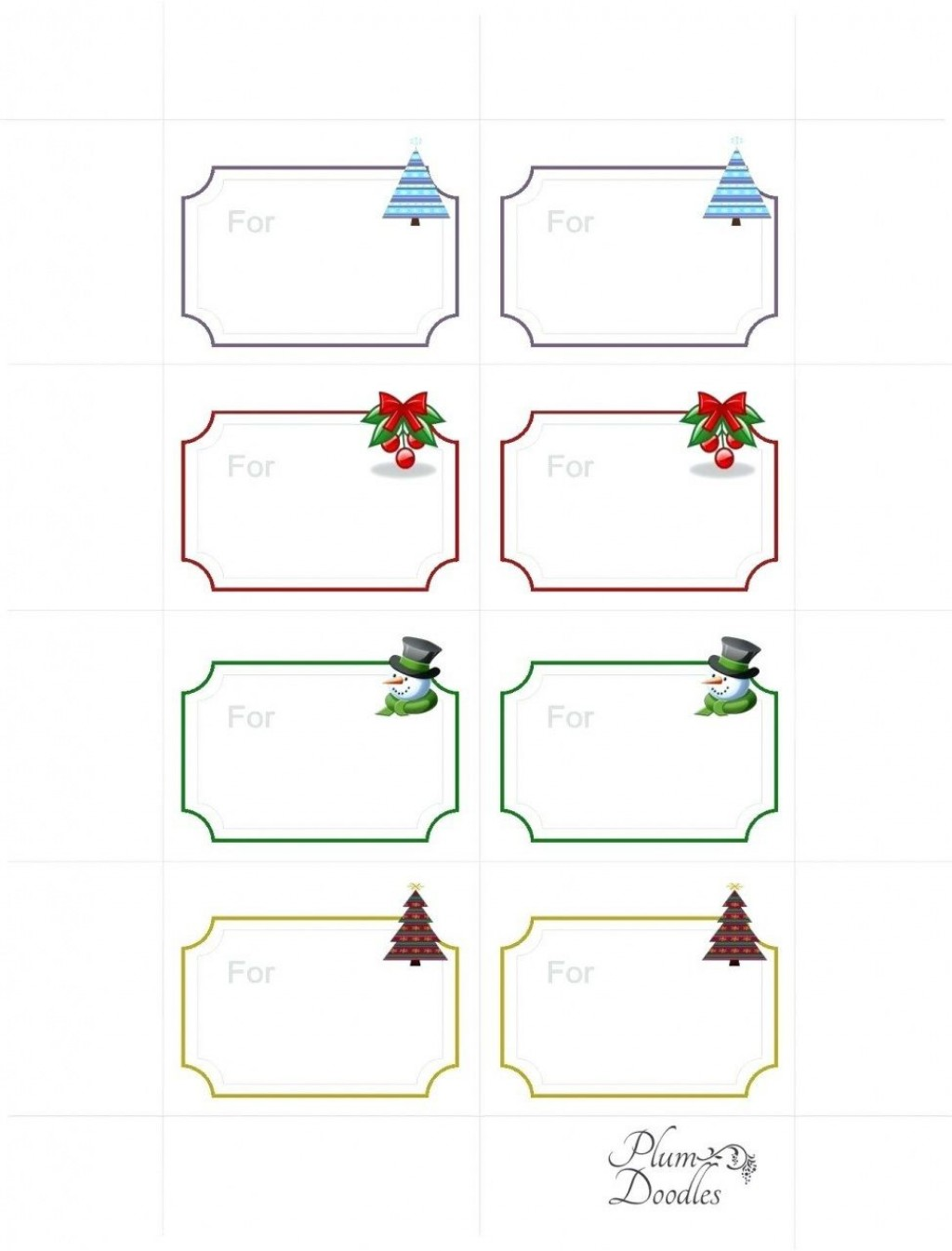 008 Wondrou Free Gift Tag Template Highest Quality  Templates Downloadable Christma Printable For Word To PrintLarge