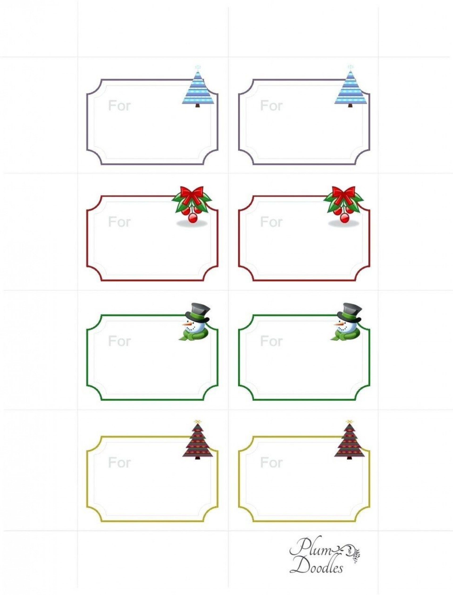 008 Wondrou Free Gift Tag Template Highest Quality  Templates Downloadable Christma Printable For Word To Print1920