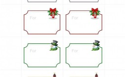 008 Wondrou Free Gift Tag Template Highest Quality  Templates Downloadable Christma Printable For Word To Print