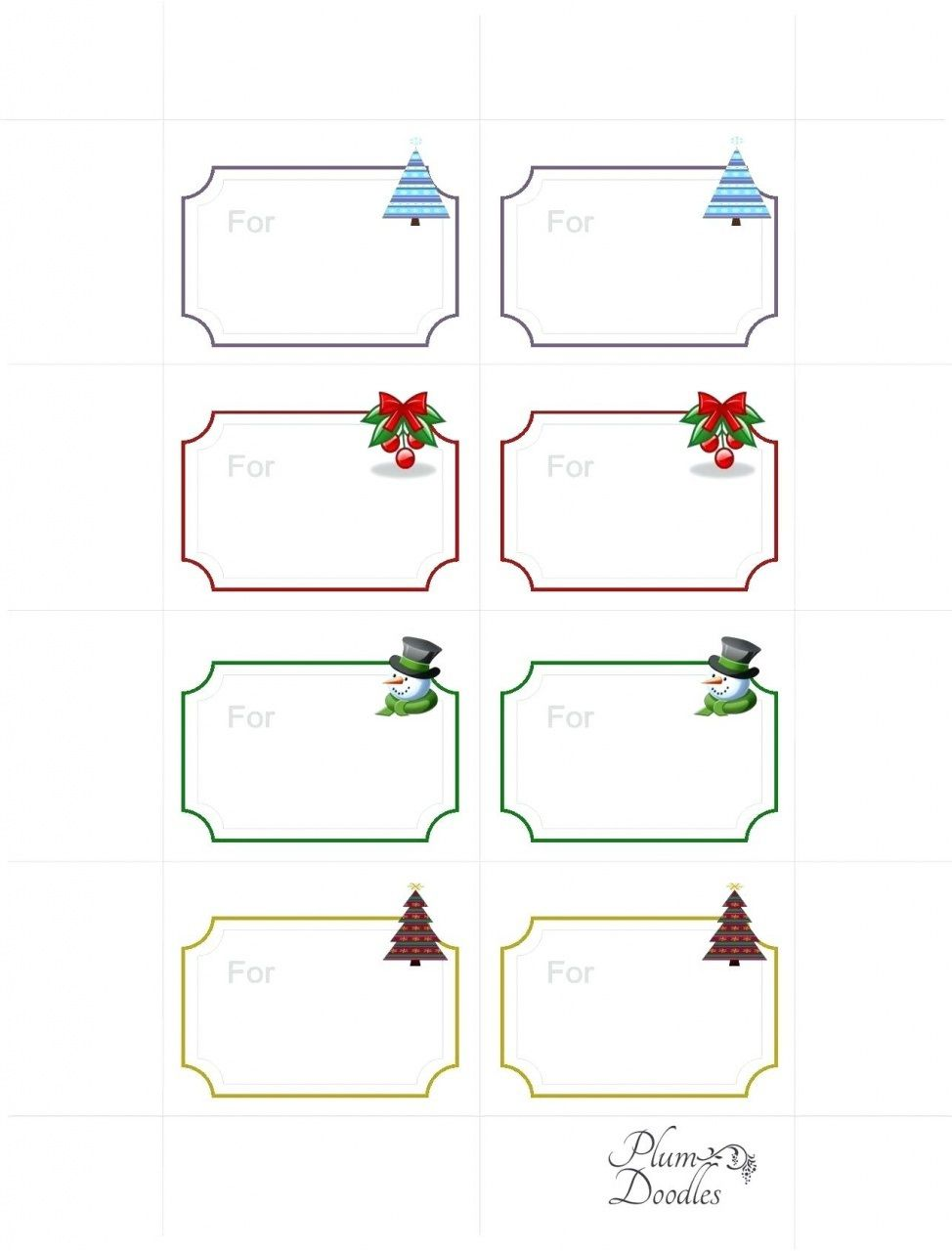 008 Wondrou Free Gift Tag Template Highest Quality  Templates Downloadable Christma Printable For Word To PrintFull