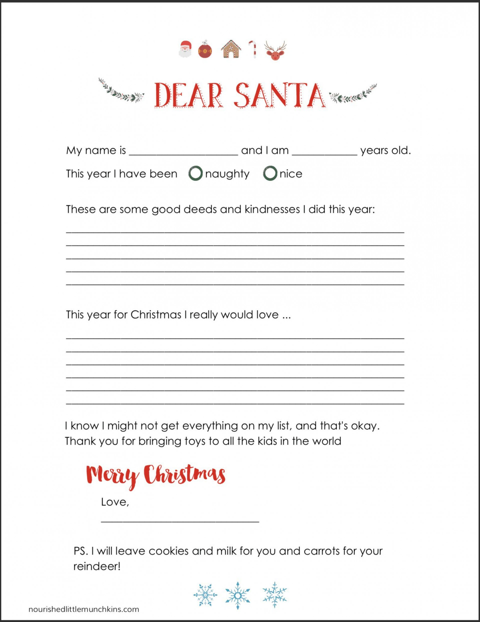 008 Wondrou Letter From Santa Template Example  Free Printable Word Doc Uk1920