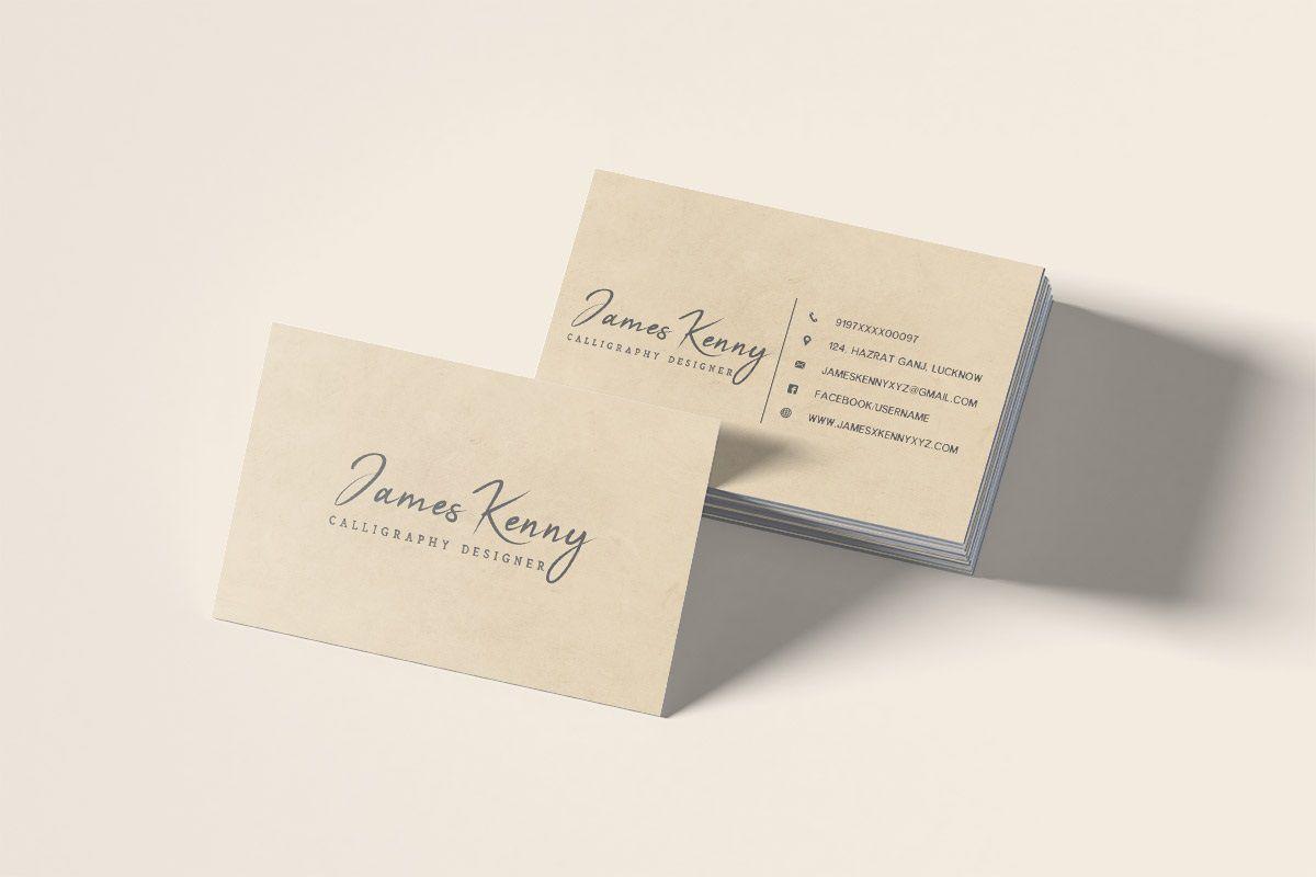 008 Wondrou Minimal Busines Card Template Free Download Design  Simple CoreldrawFull
