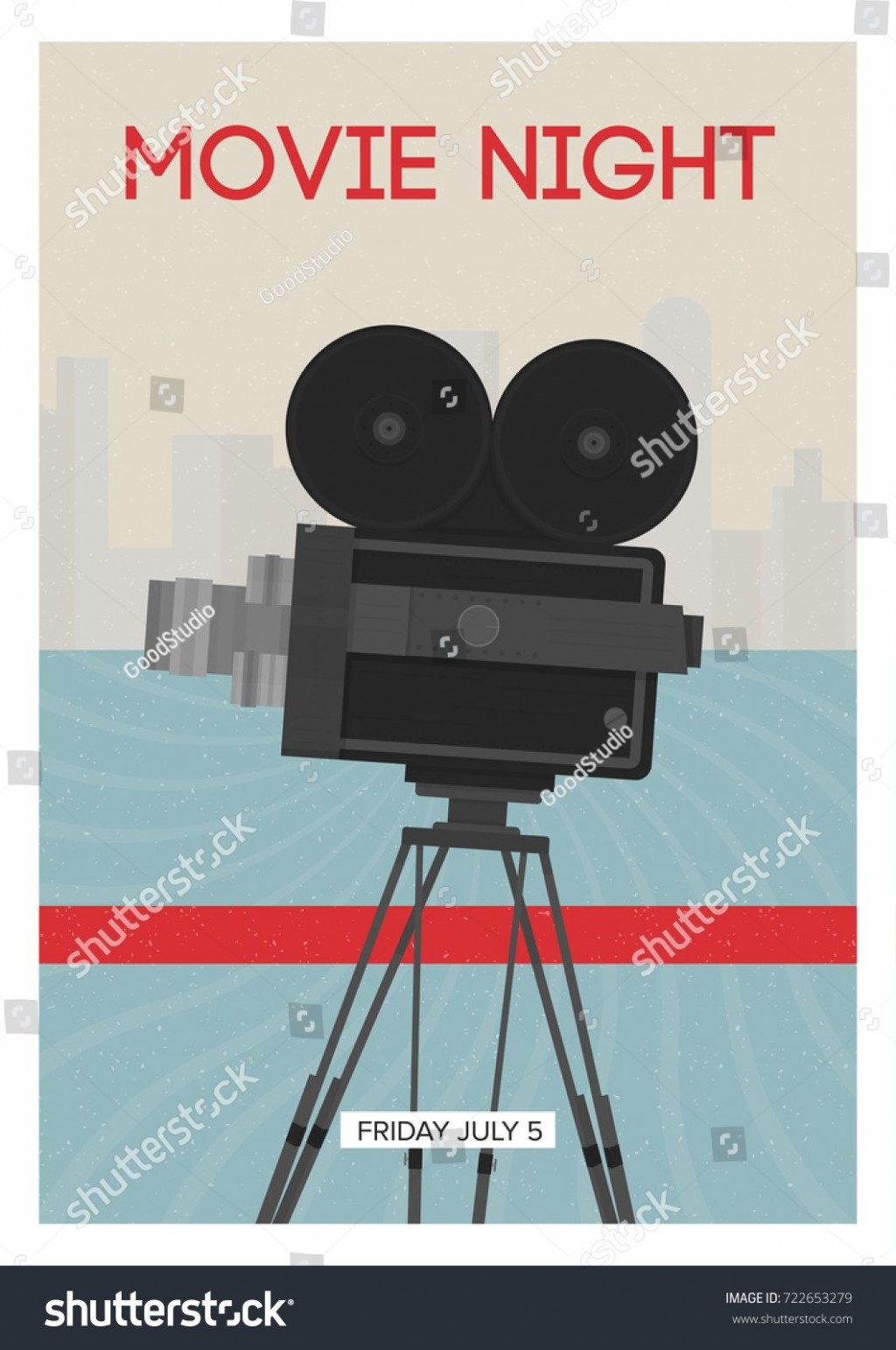 008 Wondrou Movie Night Flyer Template High Resolution  Templates Free Microsoft WordLarge