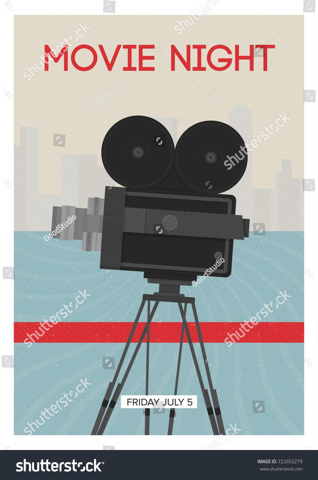 008 Wondrou Movie Night Flyer Template High Resolution  Templates Free Microsoft WordFull