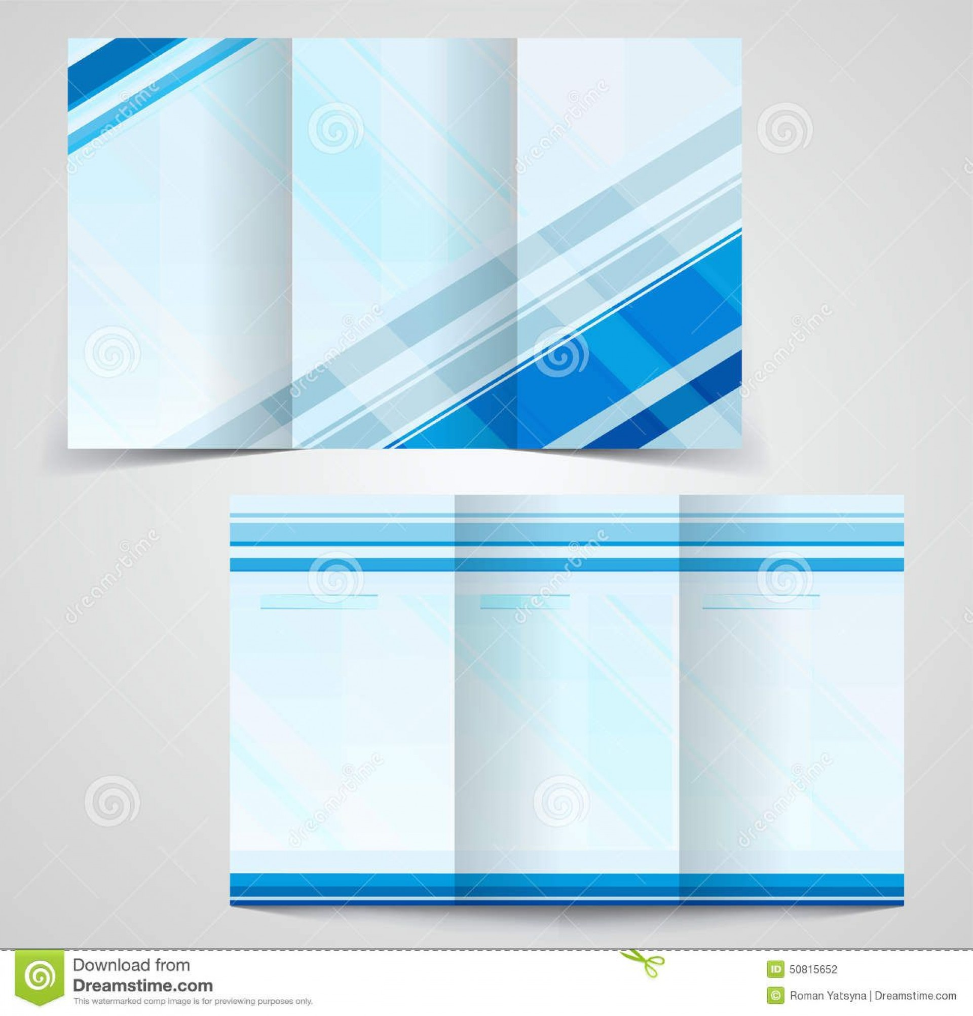 008 Wondrou M Word Blank Brochure Template Design  Microsoft Tri Fold1920