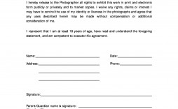 008 Wondrou Photo Release Form Template High Definition  Video Consent Australia Free And