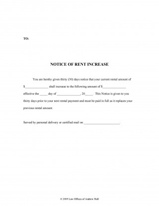 008 Wondrou Rent Increase Letter Template High Resolution  Rental South Africa Nz Scotland320