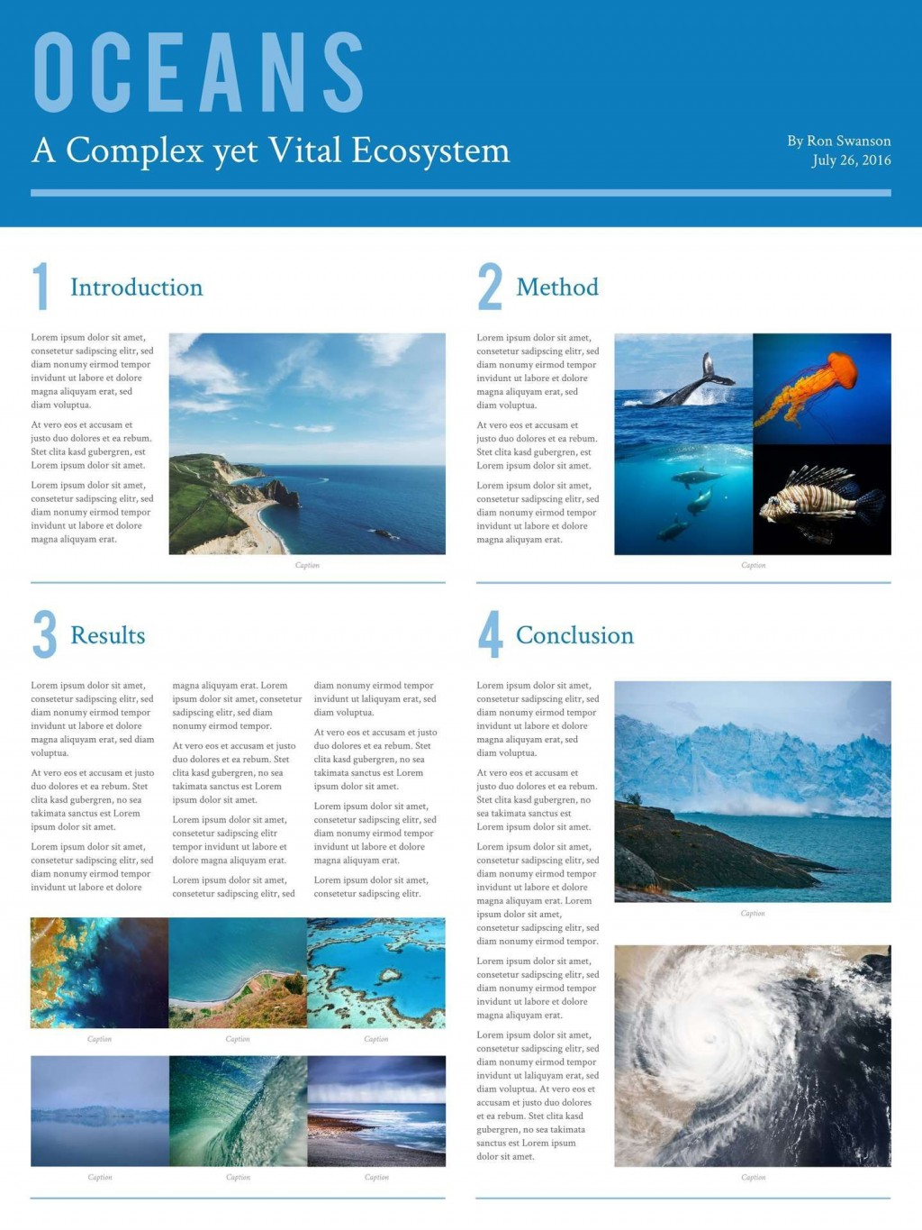 008 Wondrou Research Poster Template Powerpoint Design  Scientific PptLarge