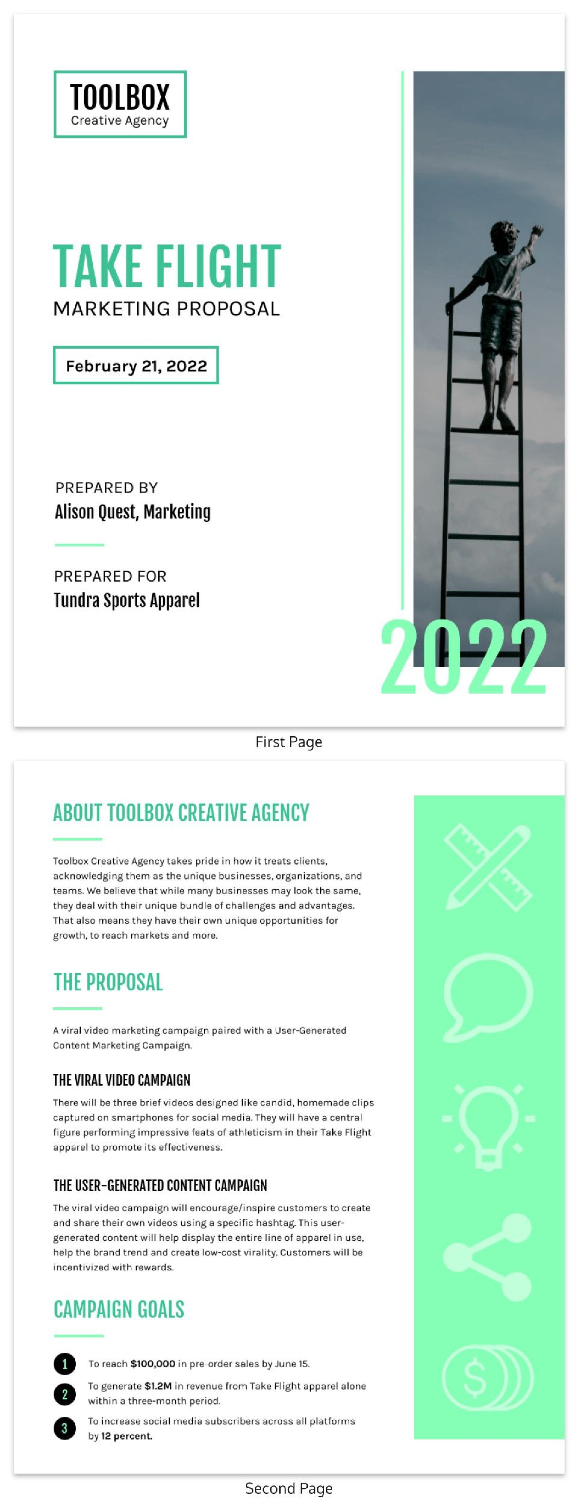 009 Amazing Busines Proposal Sample Pdf Free Download Image  Project1920