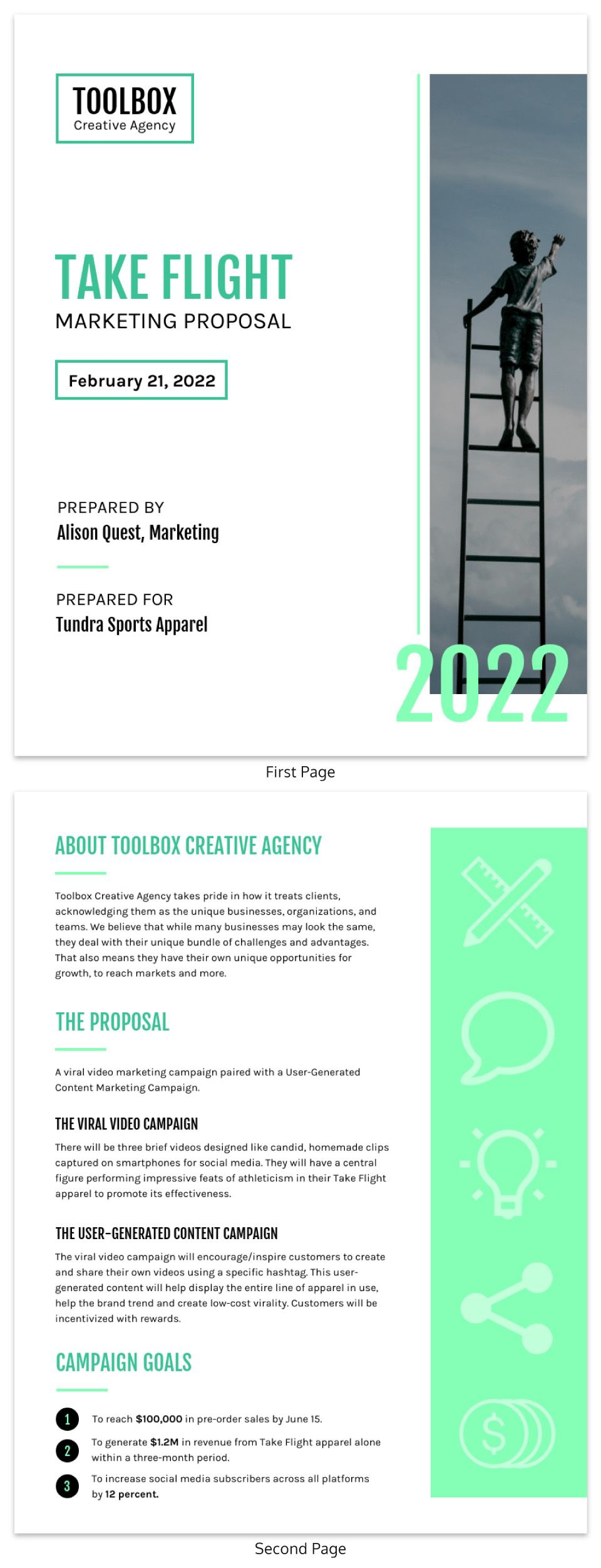 009 Amazing Busines Proposal Sample Pdf Free Download Image  ProjectFull