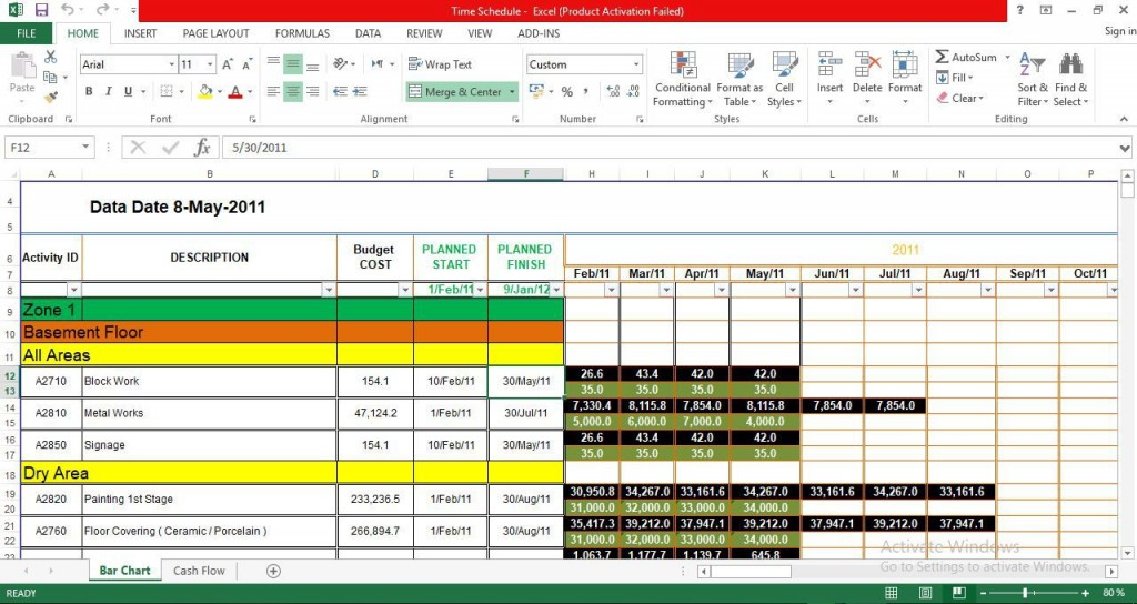 009 Amazing Cash Flow Format Excel Download Picture  Forecast Template Indirect Statement In FreeLarge