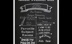 009 Amazing Chalkboard Template Microsoft Word Sample  Editable Menu