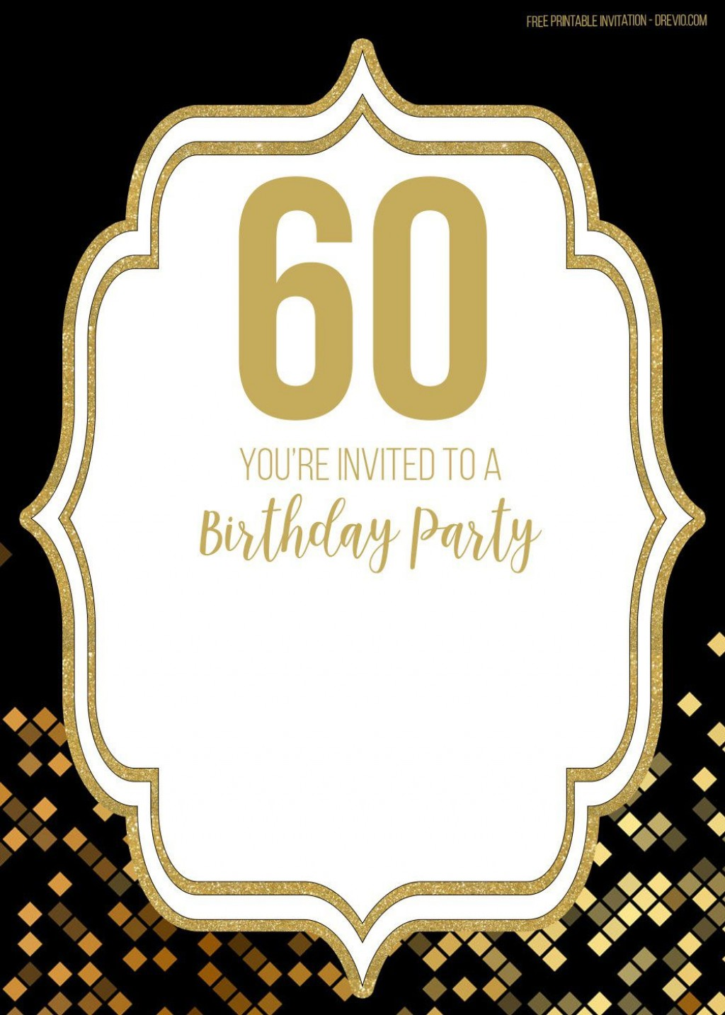 009 Amazing Free 60th Birthday Invitation Template High Resolution  Templates Surprise Download For Word PartyLarge