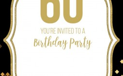 009 Amazing Free 60th Birthday Invitation Template High Resolution  Templates Surprise Download For Word Party