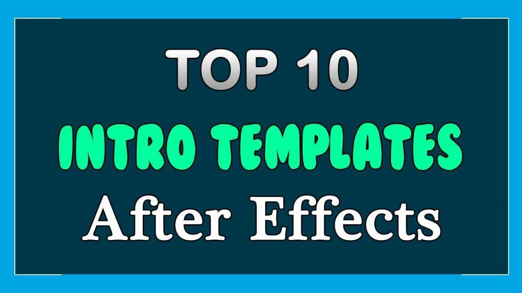009 Amazing Free After Effect Template Intro Download Sample  Zip Adobe Cc Cs6Large