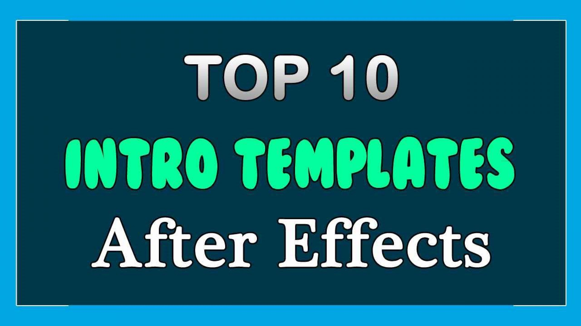 009 Amazing Free After Effect Template Intro Download Sample  Zip Adobe Cc Cs61920