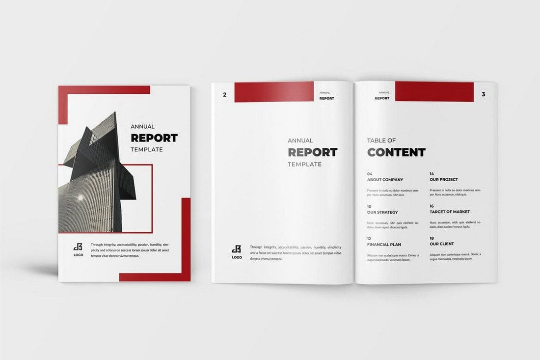 009 Amazing Free Indesign Annual Report Template Download Inspiration Full