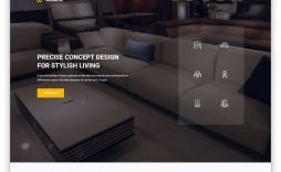 009 Amazing Interior Design Html Template Free High Definition  Download
