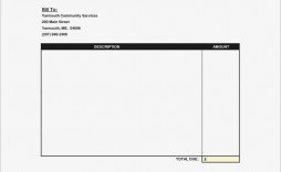 009 Amazing Invoice Template Free Printable Sample  Blank Word Document Doc