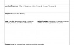 009 Amazing Lesson Plan Template Google Doc Sample  Docs Danielson Siop High School