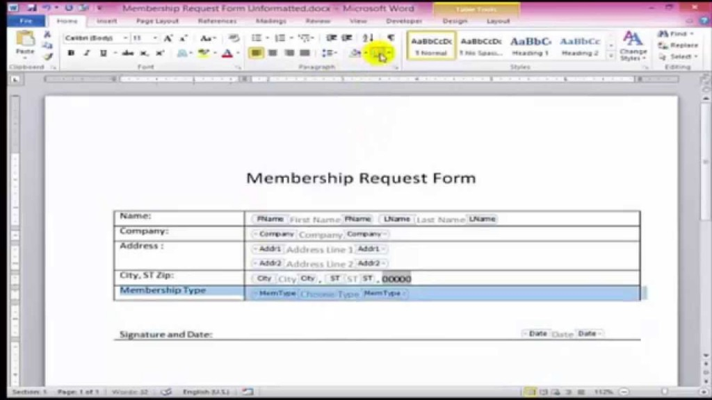 009 Amazing Microsoft Word Form Template Photo  Free OrderLarge