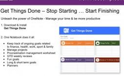 009 Amazing Onenote 2013 Project Management Template Concept
