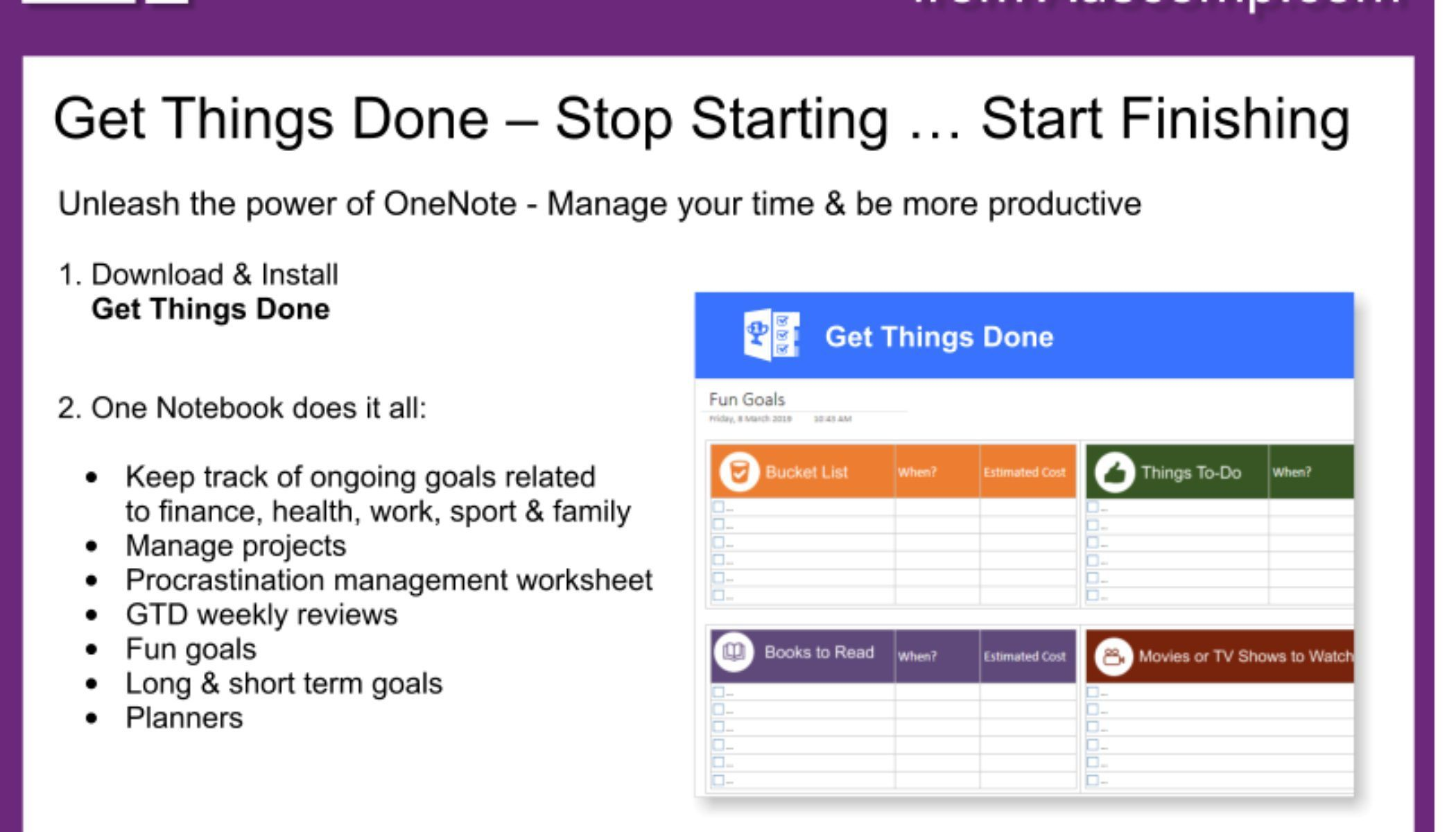 009 Amazing Onenote 2013 Project Management Template Concept Full