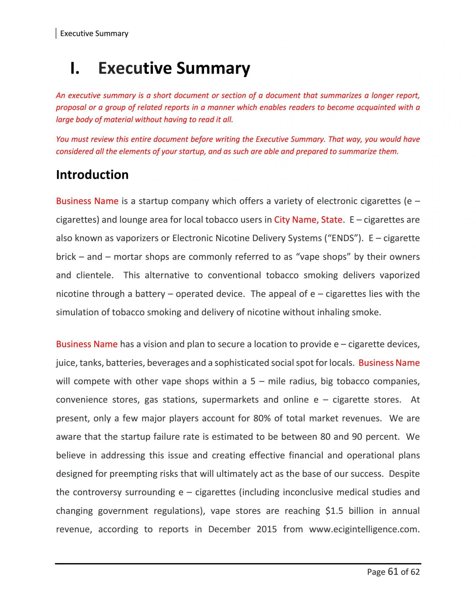 009 Amazing Retail Busines Plan Template Image  Free Online Store Example Pdf1920