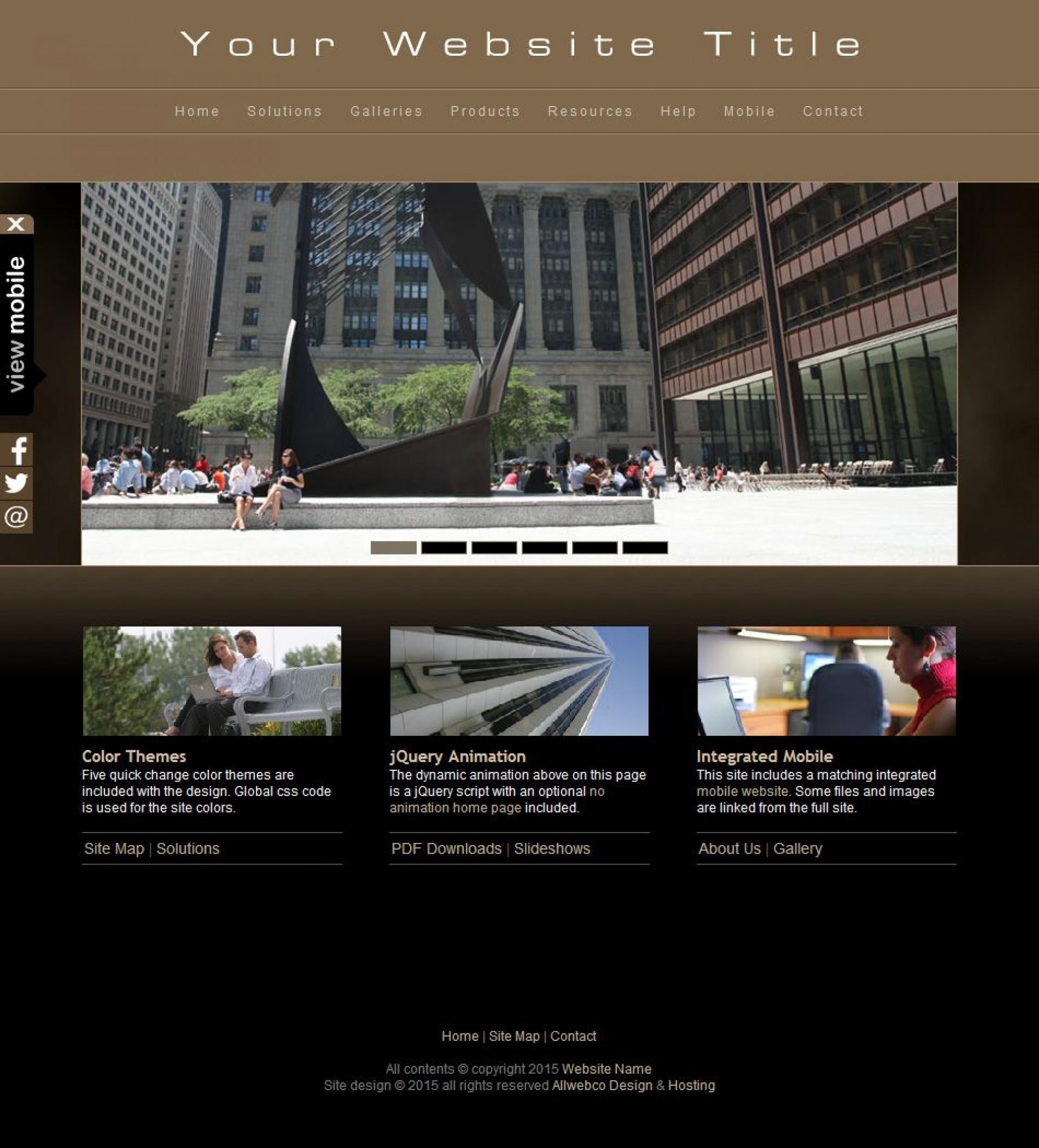 009 Amazing Website Design Site Map Template 1920