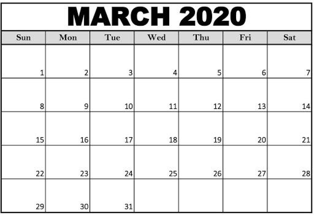 009 Archaicawful 2020 Calendar Template Excel Example  Microsoft Editable In Format Free DownloadLarge