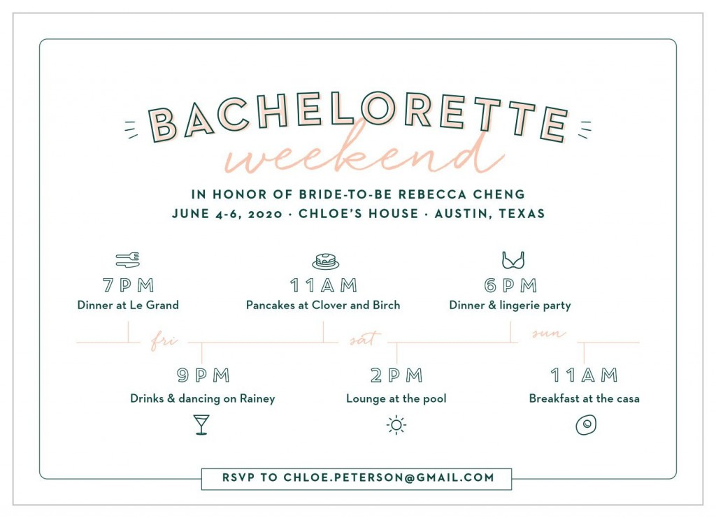 009 Archaicawful Bachelorette Itinerary Template Free Highest Clarity  Party Editable DownloadLarge