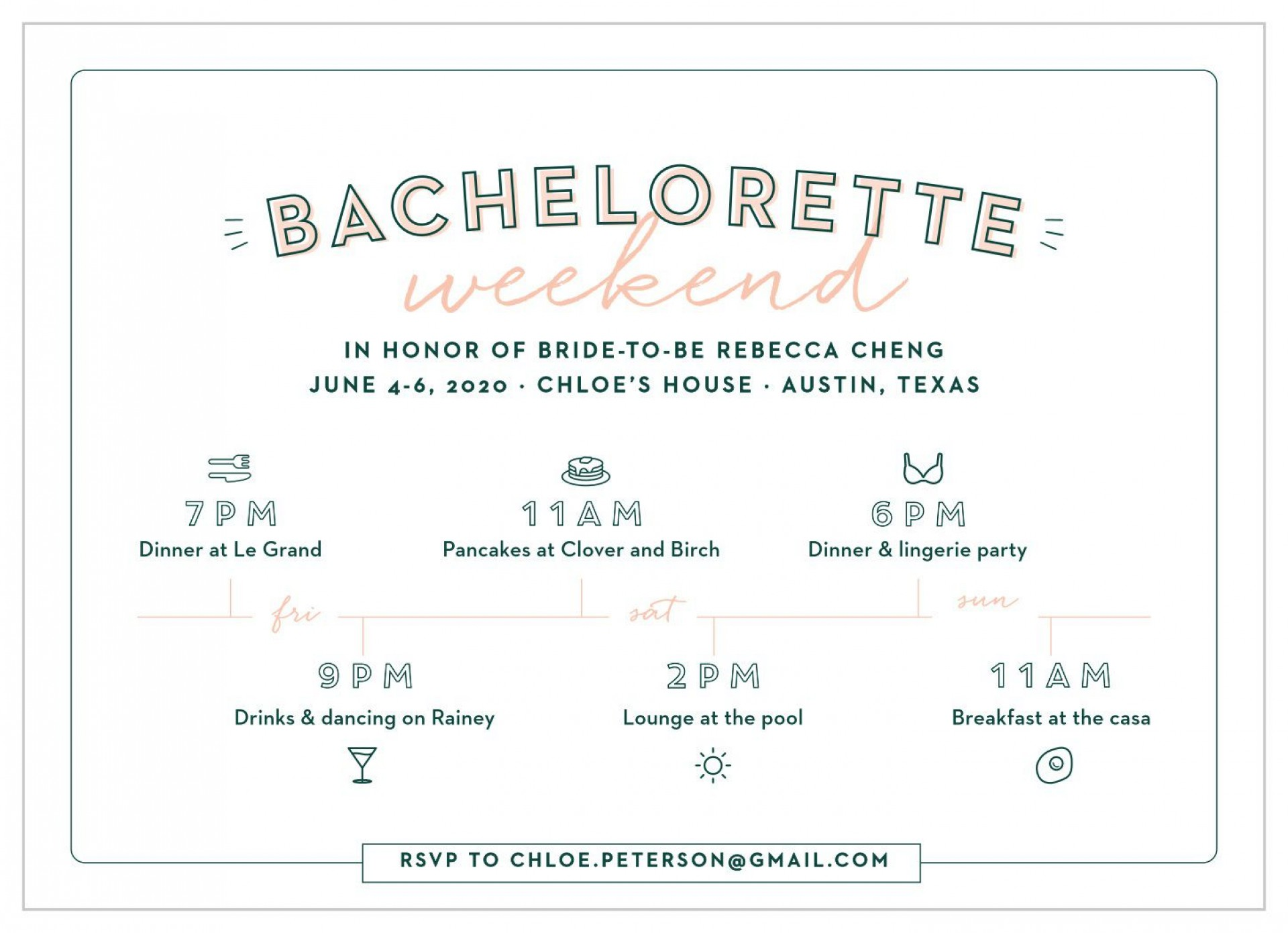 009 Archaicawful Bachelorette Itinerary Template Free Highest Clarity  Party Editable Download1920