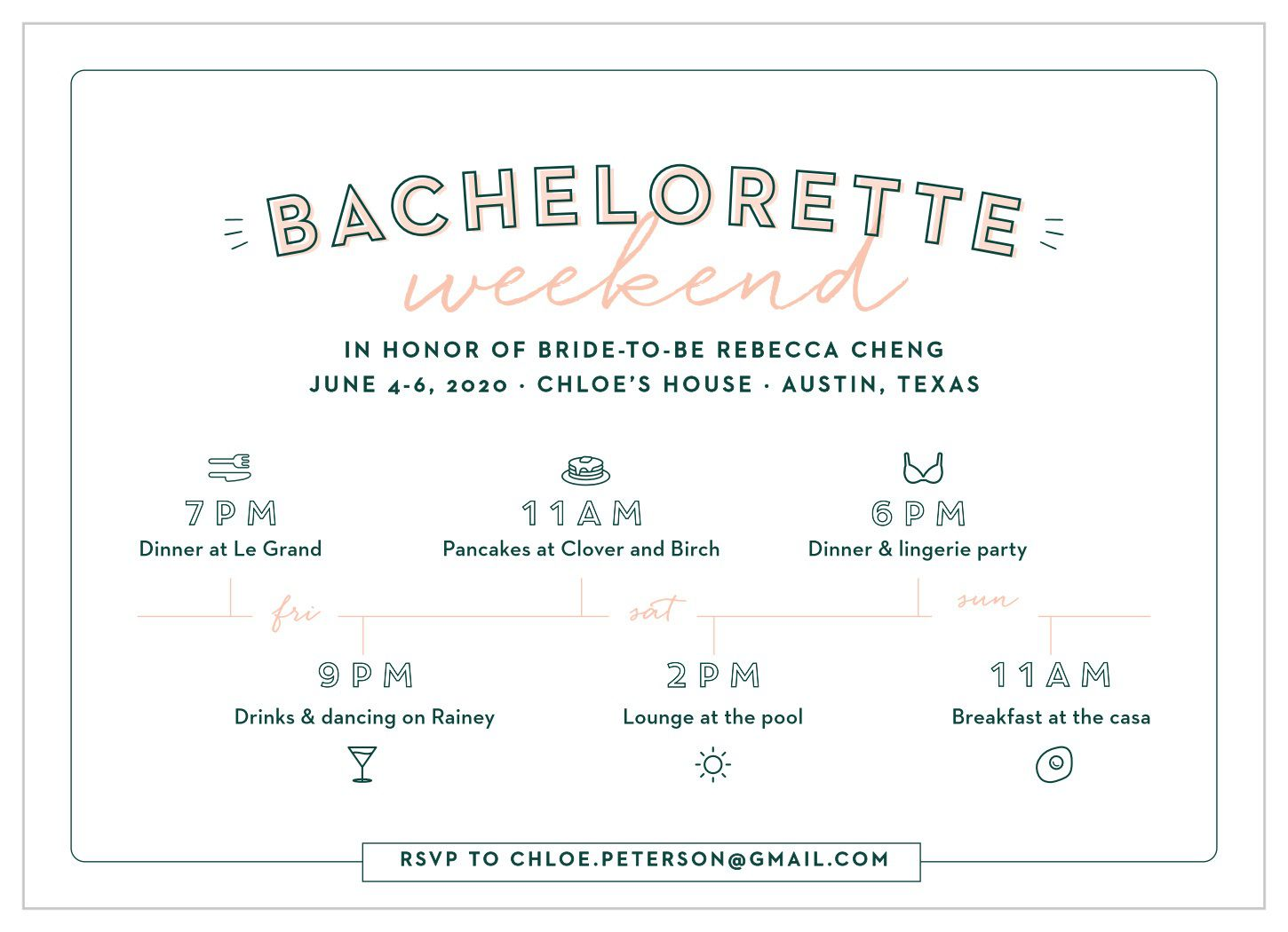 009 Archaicawful Bachelorette Itinerary Template Free Highest Clarity  Party Editable DownloadFull
