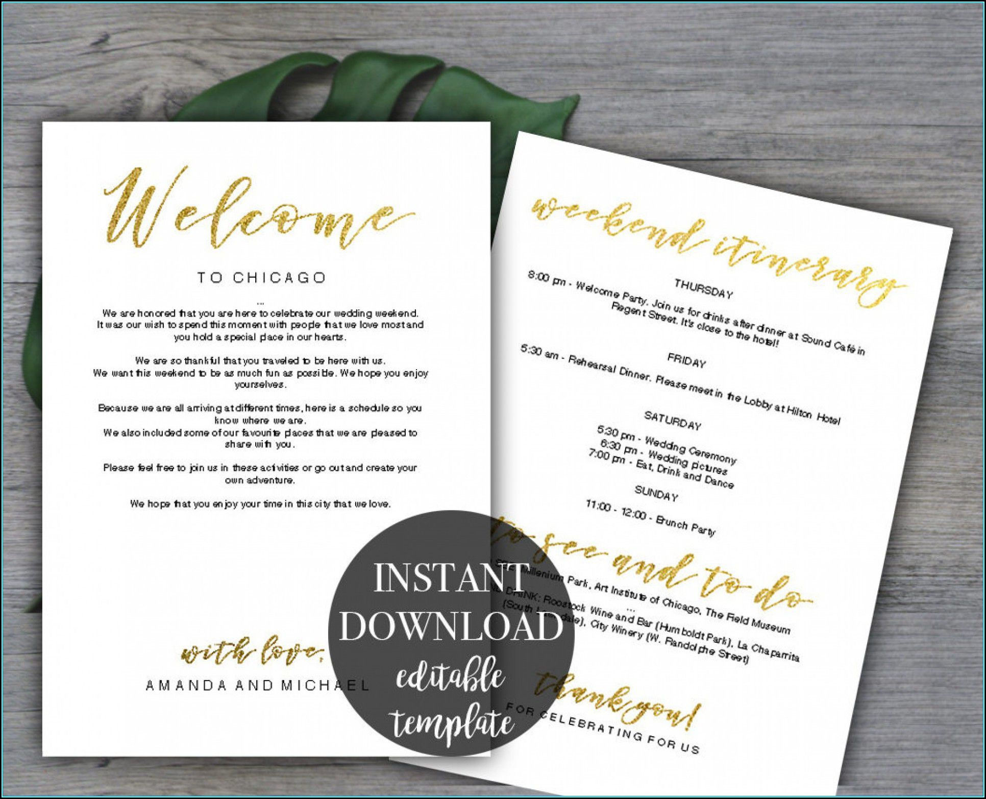 009 Archaicawful Bachelorette Party Itinerary Template Free Inspiration  DownloadFull