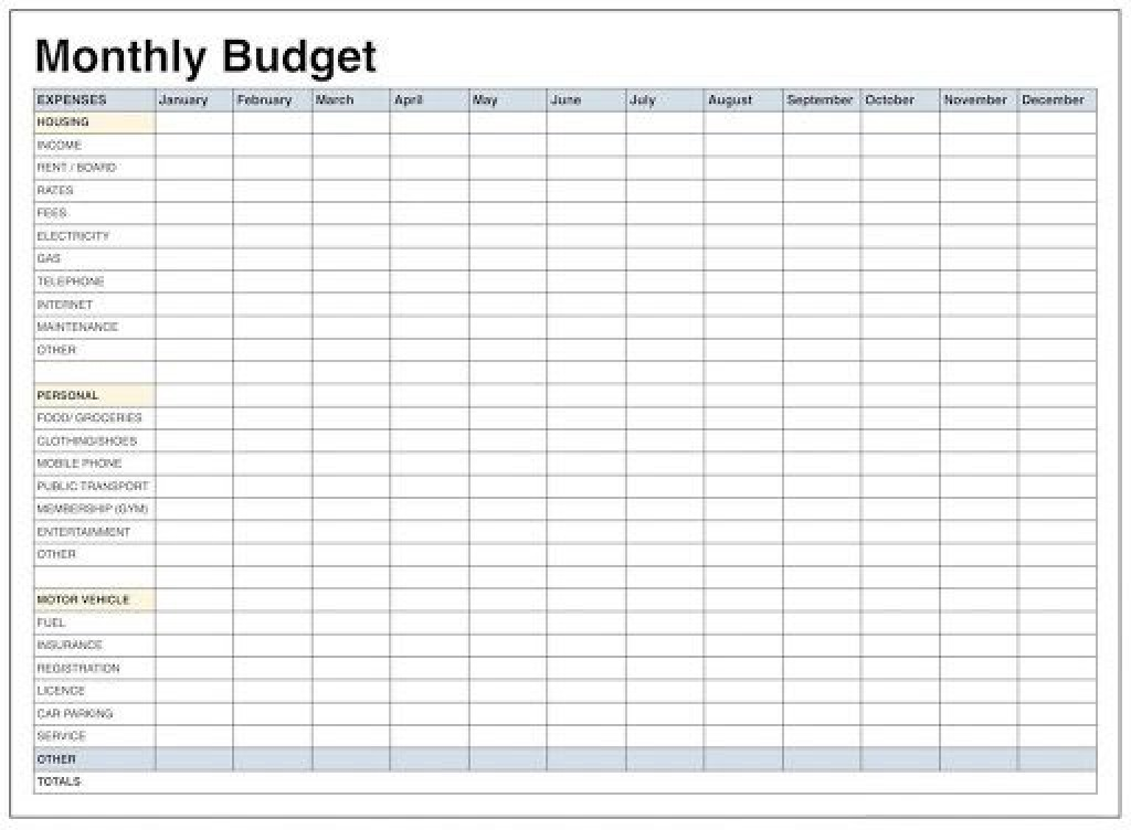 009 Archaicawful Blank Monthly Budget Worksheet High Definition  Worksheets Printable Free SpreadsheetLarge