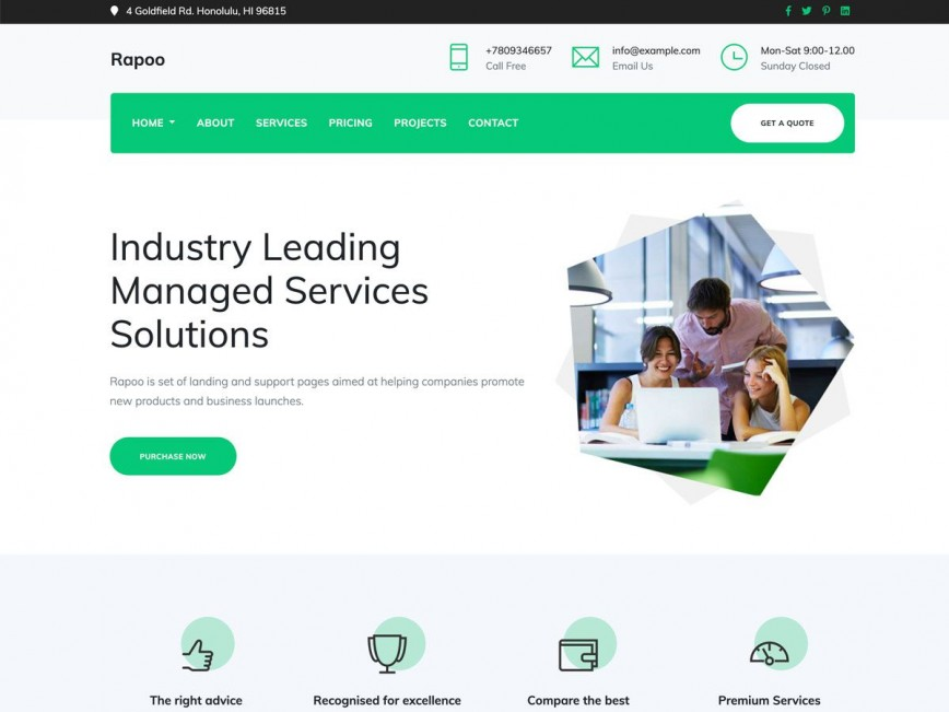 009 Archaicawful Bootstrap Website Template Free Download Highest Clarity  Responsive 2019 4