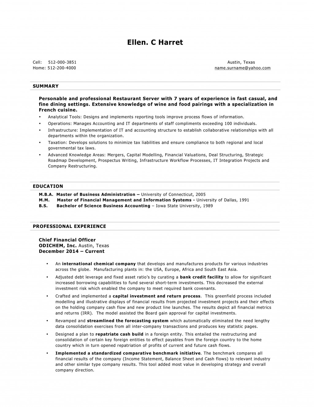 009 Archaicawful Download Resume Sample In Word Format Example  Driver Cv Free Best TemplateLarge