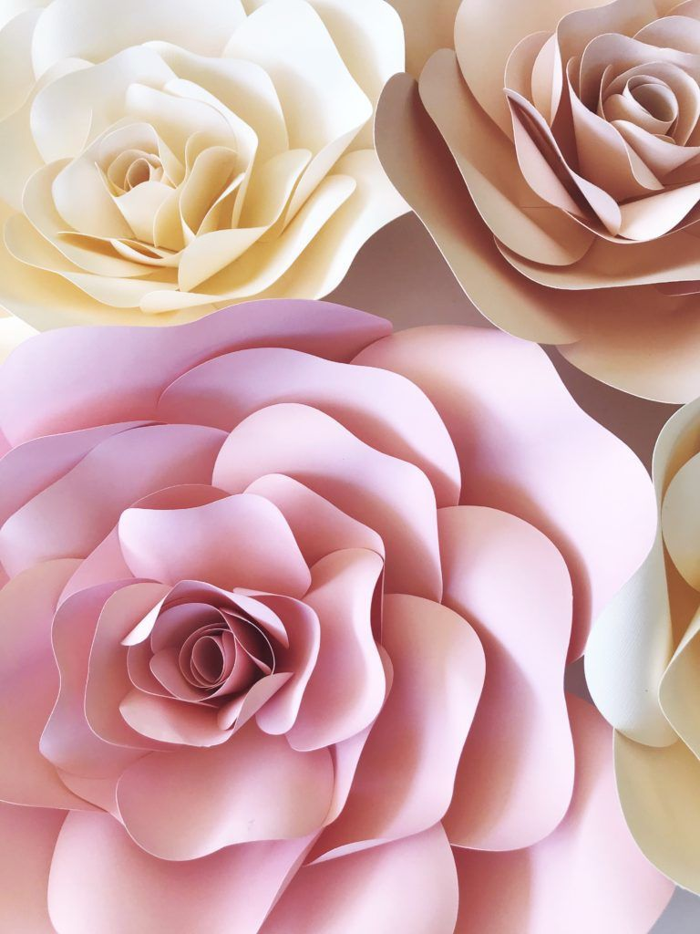 009 Archaicawful Downloadable Free Printable Paper Flower Template High Definition  TemplatesFull