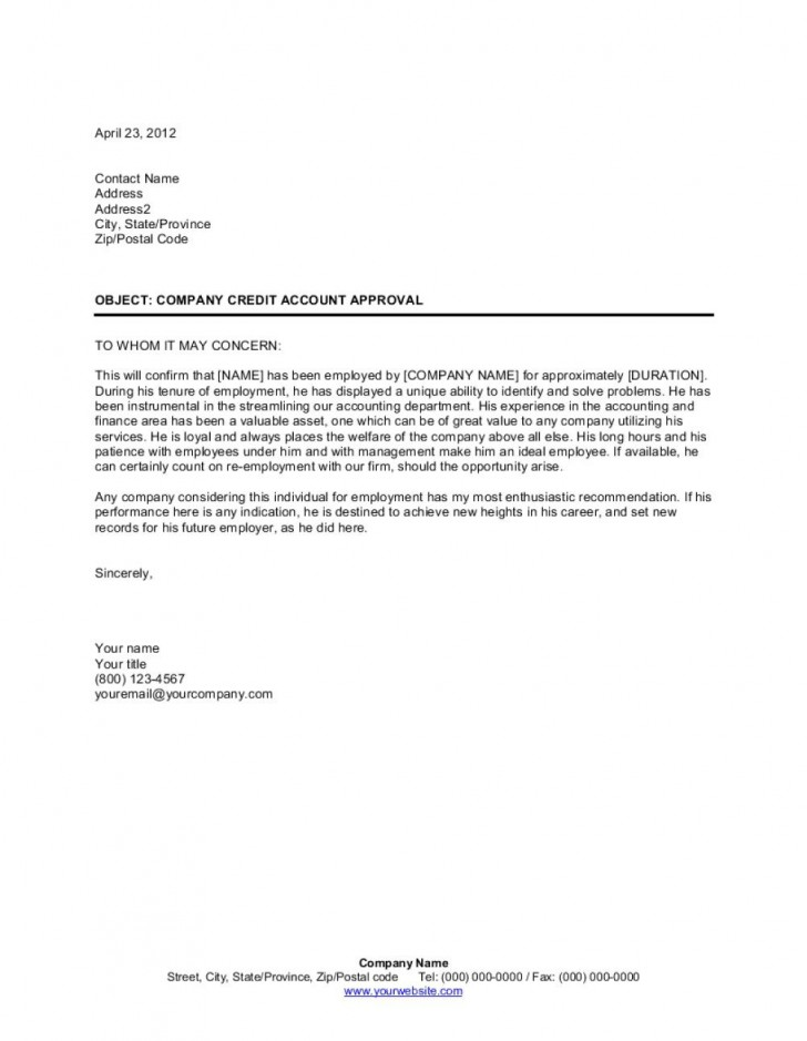 009 Archaicawful Letter Of Recomendation Template High Definition  Reference For Employment Sample Recommendation Teacher Student From Employer728