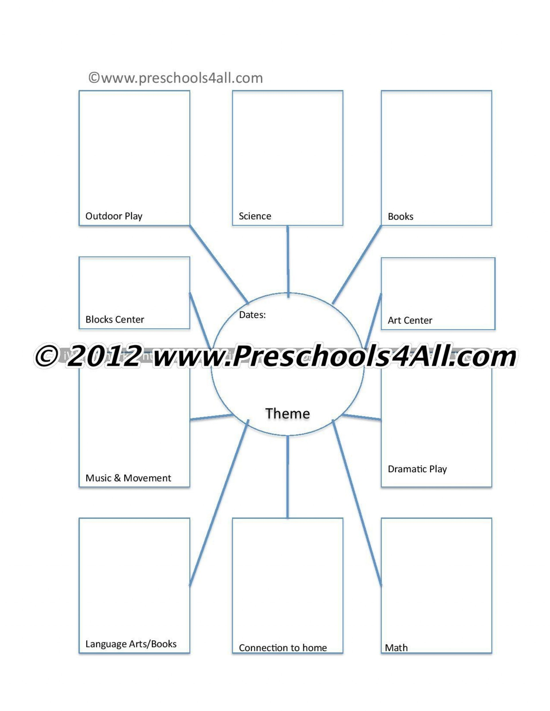 009 Archaicawful Pre K Lesson Plan Template Printable Inspiration  Pre-k1920